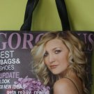 Unique magazine cover tote bag/shoulder bag