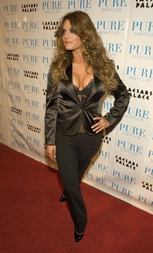 Jessica Simpson 8x10 Photo - Sexy Black Busty Top #31
