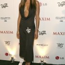 Vanessa Minnillo 8x10 Photo - Revealing Black Dress Great Curves Candid! #10