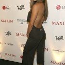 Vanessa Minnillo 8x10 Photo - Revealing Black Dress Great Curves Candid! #11