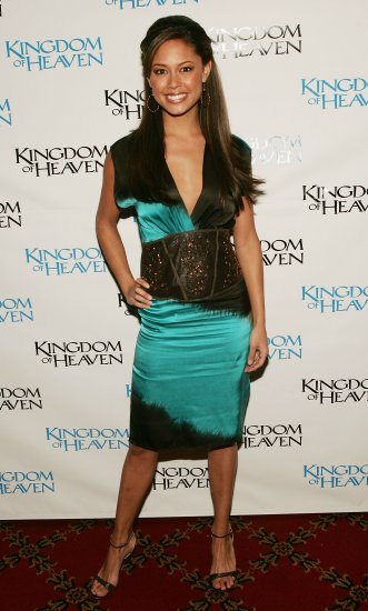 Vanessa Minnillo 8x10 Photo - Teal Black Curvy Dress - Open Toe Heels Candid! #18