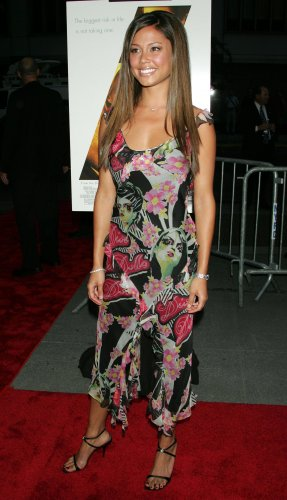 Vanessa Minnillo 8x10 Photo - Multi Color Tight Dress, Open Toe Heels Candid! #22