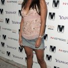 Vanessa Minnillo 8x10 Photo Pretty Smile - Short Denim Skirt, Open Toe Heels Candid! #28