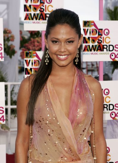 Vanessa Minnillo 8x10 Photo - MTV VMA '04 C-THRU ~MUST HAVE~ TOP SLIP Candid! #37