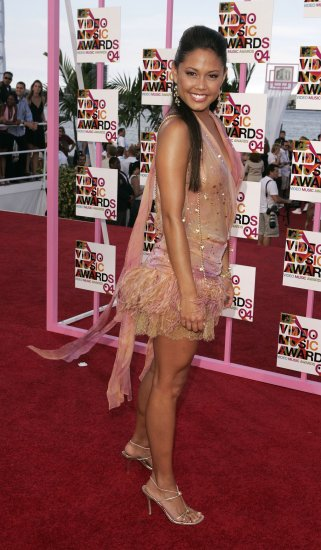Vanessa Minnillo 8x10 Photo - MTV VMA '04 C-THRU ~MUST HAVE~ TOP SLIP Candid! #40