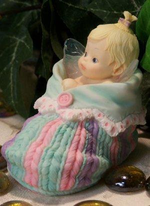 My Little Kicthen Fairires Baby In Bootie Fairy