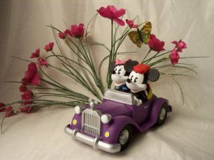 Mickey & Minnie Mouse Collector Bank