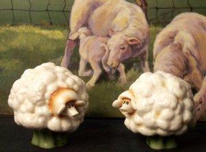 Enesco Home Grown Sheep Salt & Pepper Shakers