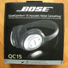 Brand new Bose QC 15, free USPS priority mail shipping