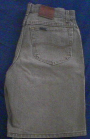 MENS LEE Riveted Jean Shorts - 32 Waist