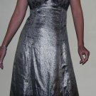 $1300 MARC JACOBS LACE SILVER METALLIC DRESS SKIRT 6 M
