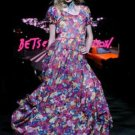 BETSEY JOHNSON FLORAL 2011 COLLECTION SUMMER DRESS 6 M
