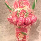 Strawberry Shortcake Lollipop Bouquet