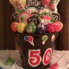 50th Birthday Lollipop Bouquet
