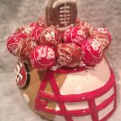 San Francisco 49ers Lollipop Helmet