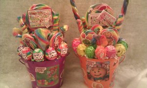 Candyland  Lollipop Bouquet