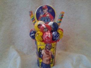 WWE Lollipop Bouquet