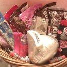 Hershey Kiss Gift Basket