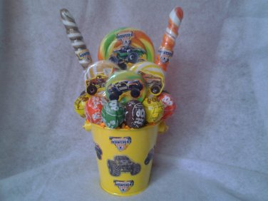 Monster Trucks Lollipop Bouquet