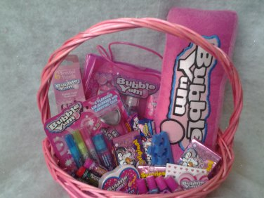 Bubble Yum Gift Basket