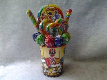 Power Rangers Lollipop Bouquet