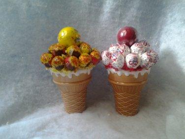 Icecream  Cones Lollipop Bouquets