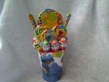Sesame Street Lollipop Bouquet