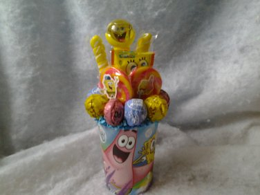 Spongebob Lollipop Bouquet