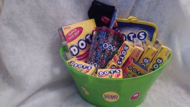 Dots Candy Gift Basket