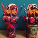 Spiderman Lollipop Bouquet