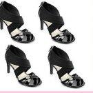"STUDIO PAOLO® ""AMOR"" BLACK Heel Sandals Shoes.    SiZ 11"