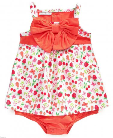 First Impressions Baby Girls Fruit-Print 1 PCS Bodysuit 6-9Month