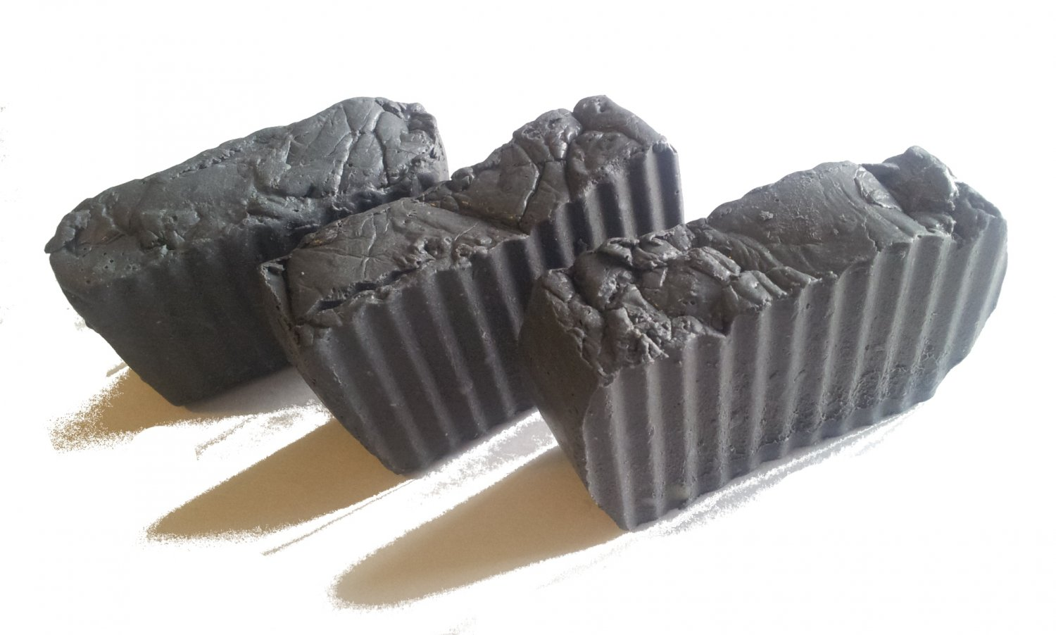 Handmade Soap- Homemade Activated Bamboo Charcoal Pore Detox Bath Soap