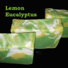 Homemade HP Lemon Eucalyptus Bath Soap- shea Butter, coconut