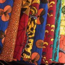 10 Yards Assorted African Fabric Ankara Prints-All Unique, No Repeat- Save $15