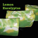 Homemade Hot Processed Lemon Eucalyptus Natural Soap- coconut ,castor oil,shea