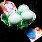 Peppermint Bath Gift Set- Natural Peppermint Bath Bombs And Peppermint soap