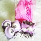 Natural Spa Lavender Gift Set- Bath Bombs & Exfoliating Natural Glycerin Soap