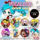 Vocaloid badge set (8+1 secret)