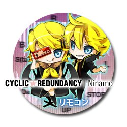 Vocaloid - Remote Control badge