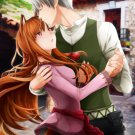 Spice & Wolf - Lawrence x Holo A4 print