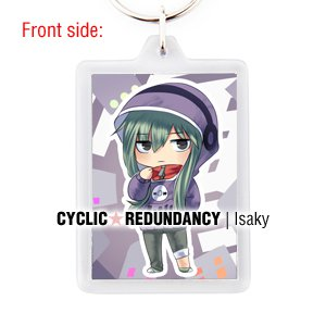 Kagerou Project / Mekaku City Actors - Tsubomi Kido keychain