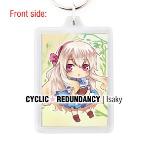 Kagerou Project / Mekaku City Actors - Marry Kozakura keychain
