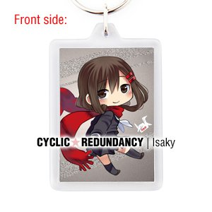 Kagerou Project / Mekaku City Actors - Ayano Tateyama keychain