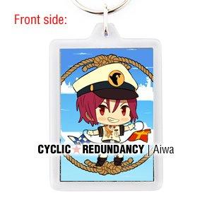 Free! Iwatobi Swim Club - Rin Matsuoka keychain