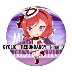 Love Live! - Maki Nishikino badge