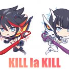 "Kill la Kill - 1.5"" double-sided clear acrylic charm"