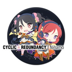 Love Live! - Nico x Maki 50mm badge