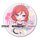 Love Live! ~mini units~ Maki Nishikino badge