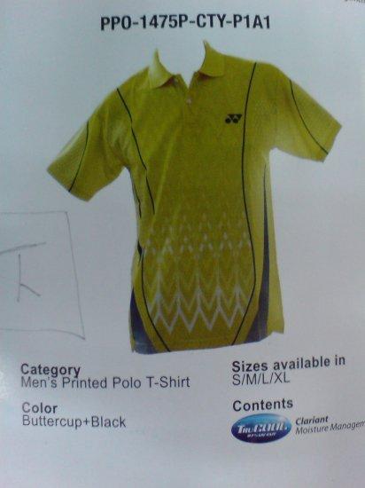 Yonex Men's Printed Polo Tees